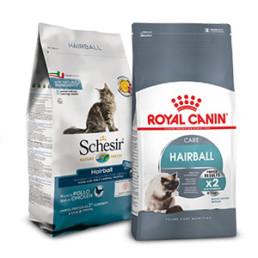Haarbal, Royal Canin Hairball Care en Shesir hairball