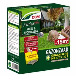 Graszaad, Dcm activo plus, kale plekken gazon