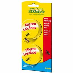 Ecostyle Mierenlokdoos - Insectenbestrijding - 2 stuks