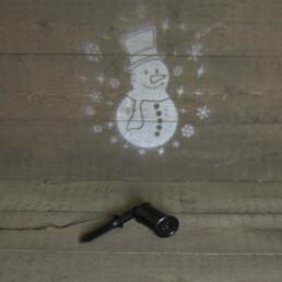 projector sneeuwman